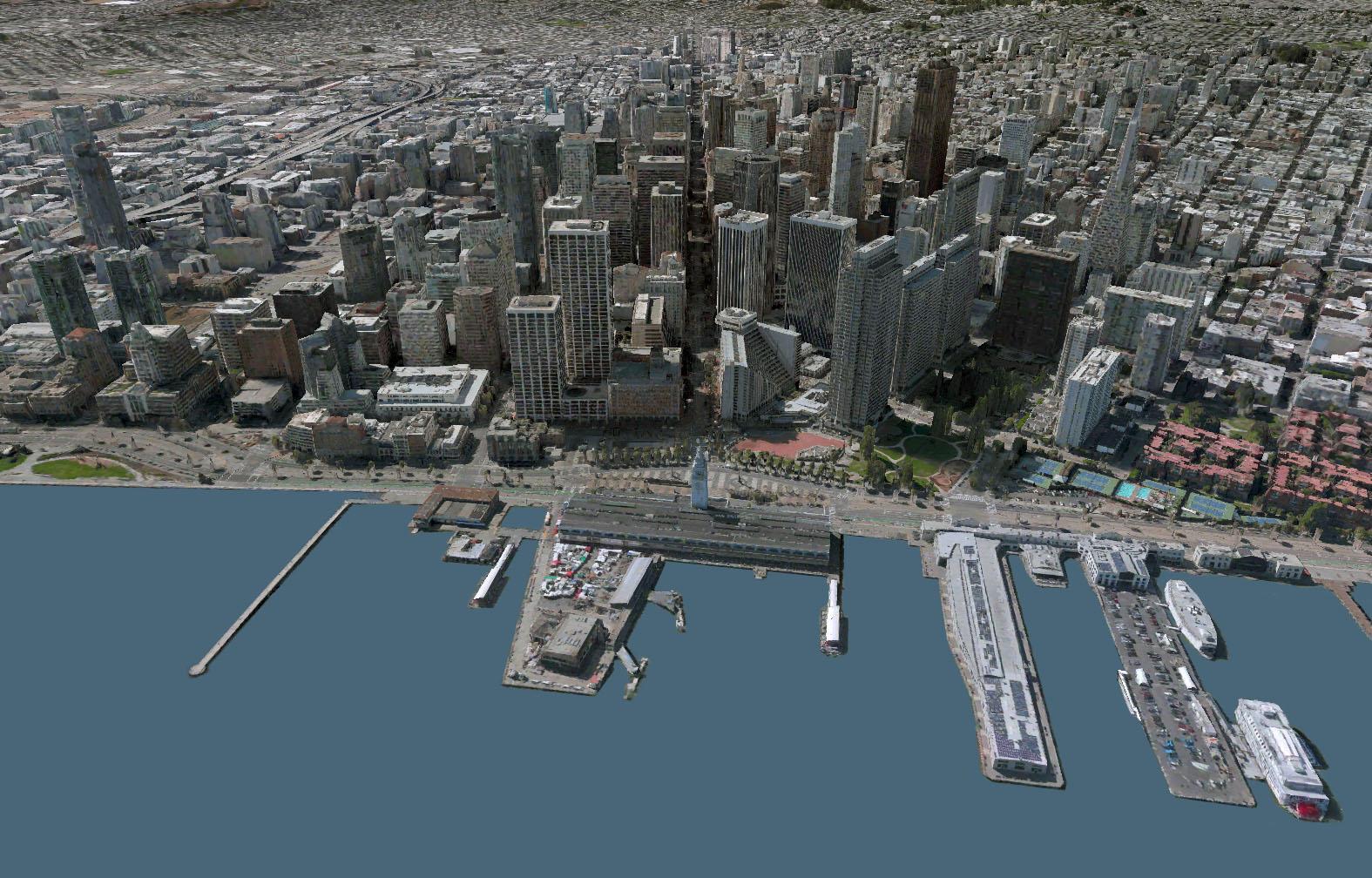 bing map SF